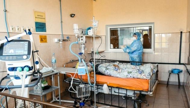 W ciągu ostatniej doby na Ukrainie COVID-19 potwierdzono u 16309 osób