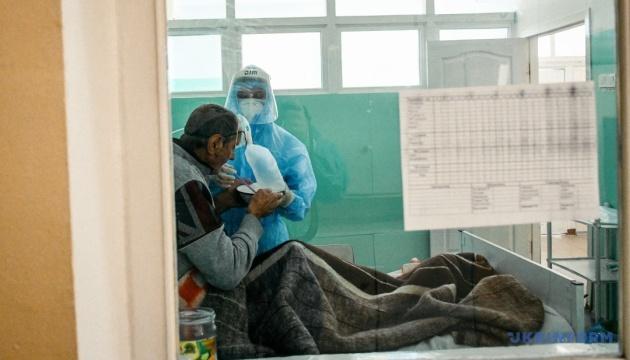 El 47% de camas en los hospitales COVID de Kyiv están ocupadas