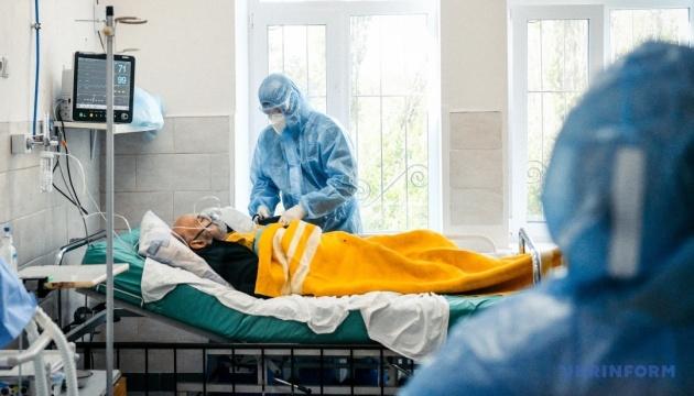 У Києві лікарняні ліжка для COVID-хворих заповнені майже на 45%