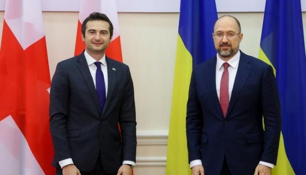 Shmygal: El intercambio comercial entre Ucrania y Georgia crece un 30%