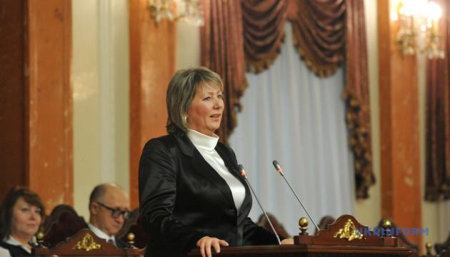Vorsitzende des Obersten Gerichts Danischewska tritt zurück
