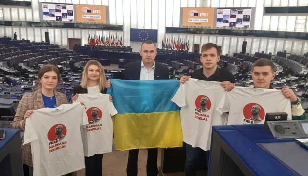 Сенцов: У Страсбурзі провели флешмоб на підтримку Джелялова