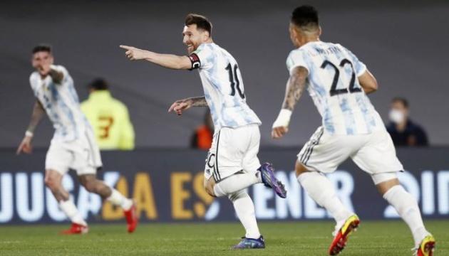 Аргентина розгромила Уругвай, Бразилія втратила перші очки у відборі на ЧС-2022