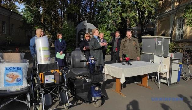 Київському військовому шпиталю передали медобладнання від діаспори в Нідерландах