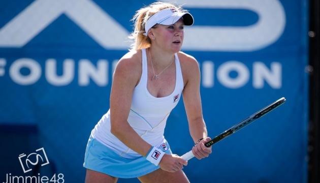Українка Козлова виграла стартовий матч турніру ITF W60 в Ранчо-Санта-Фе