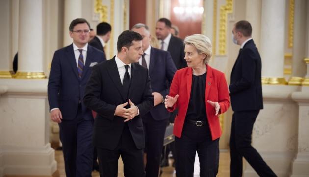 Угоду про «спільне небо» з Україною імплементують негайно – президентка Єврокомісії