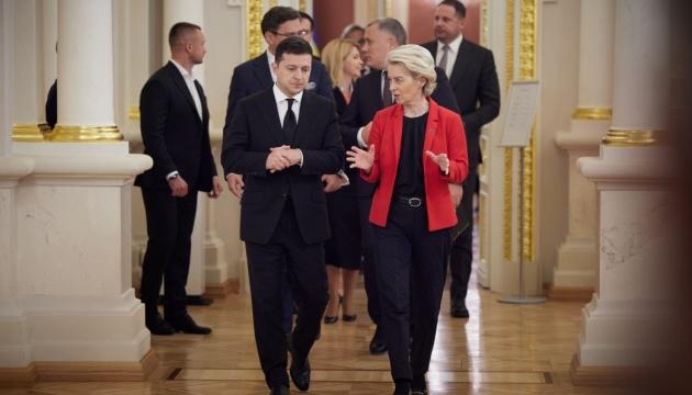 Ukraina i Unia Europejska podpisały dwie kolejne umowy na szczycie w Kijowie