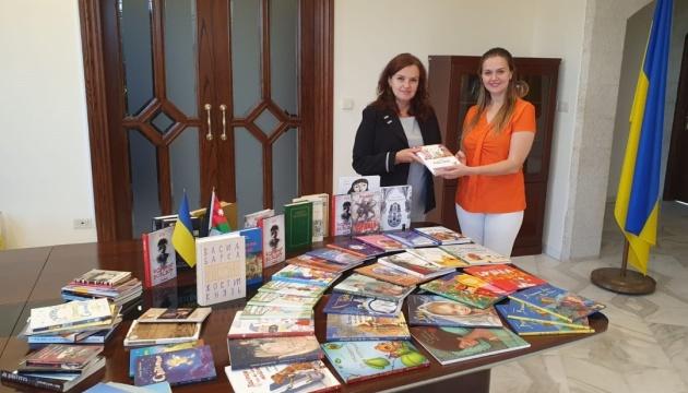 Україномовна бібліотека в Йорданії поповнилася новими книжками