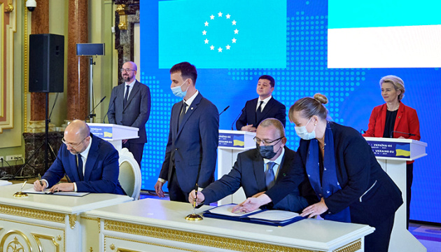 Auf dem Gipfel in Kyjiw noch zwei Abkommen unterzeichnet