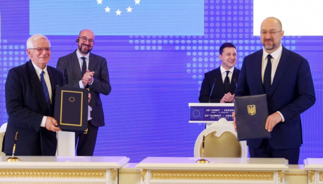 Ukraine has received over EUR 17 B in loans and grants from EU since 2014