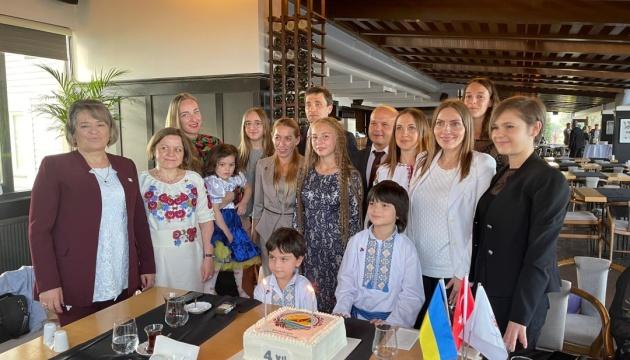 У Туреччині Чорноморська асоціація українців відсвяткувала 4-ту річницю від заснування