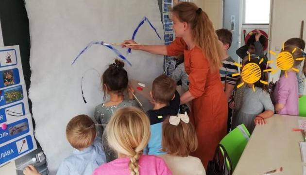 В українській школі «Барвінок» у Нідерландах відбувся художній майстер-клас