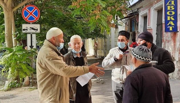 露占領当局、拘束したクリミア・タタール人7名に罰金刑