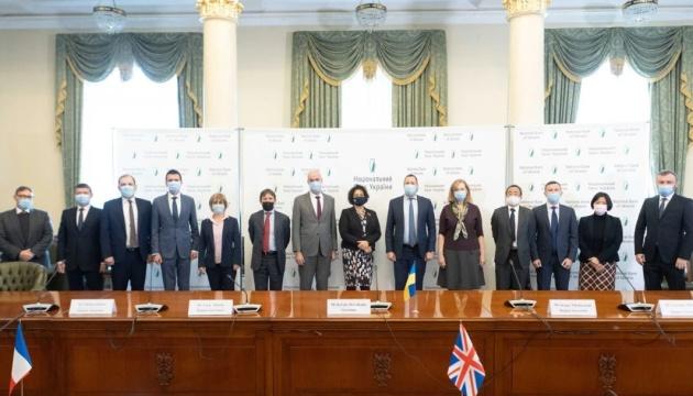 La Junta del BNU se reúne con los Embajadores del G7