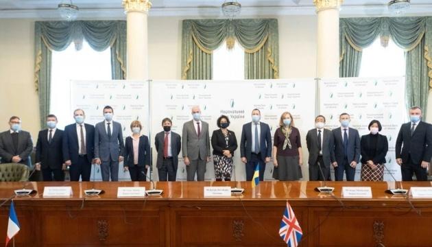 NBU-Vorstand trifft sich mit Botschaftern der G7-Staaten