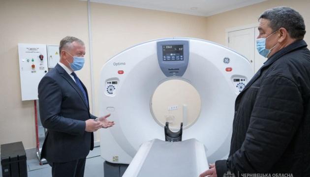 У Вижницькій лікарні на Буковині оновили приймальне відділення