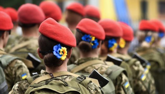 Zelenska: Más de 31.000 mujeres defienden la paz y la tranquilidad en Ucrania